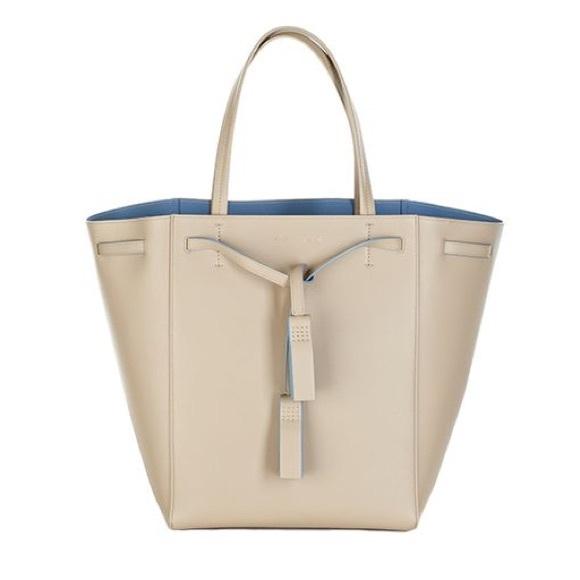 91b04cd650 Celine Handbags - CELINE Medium Tassel Cabas Phantom Tote